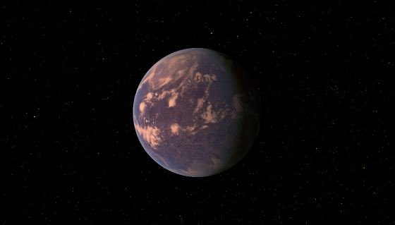 Planet Gliese 581 C 073a1