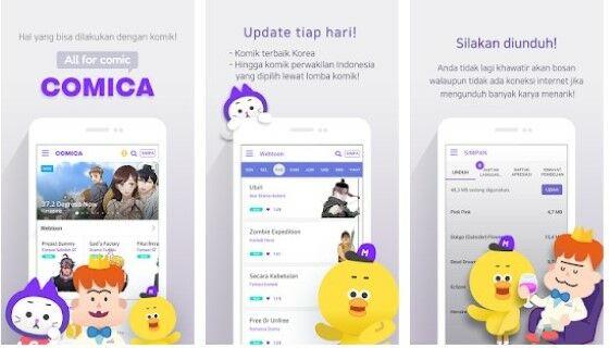 Aplikasi Baca Komik Romatis Korea Eaad5