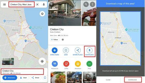 Langkah Google Maps Custom Faba8