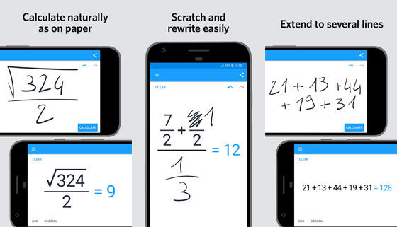 Aplikasi Matematika Myscript Calculator D8a7f