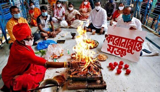 Penyembahan Virus Corona Di India 1 Ca90b
