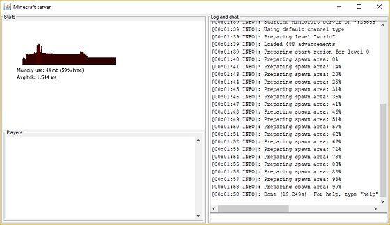 Minecraft Server 3 605b2