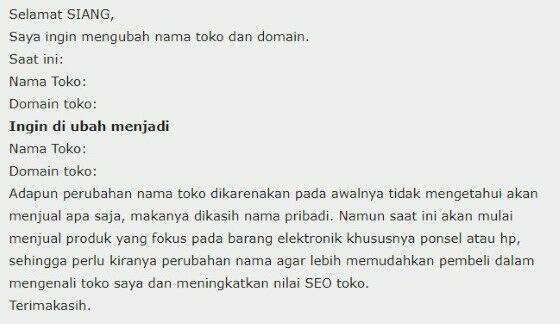 Cara Mengganti Nama Toko Di Mitra Tokopedia 01c70