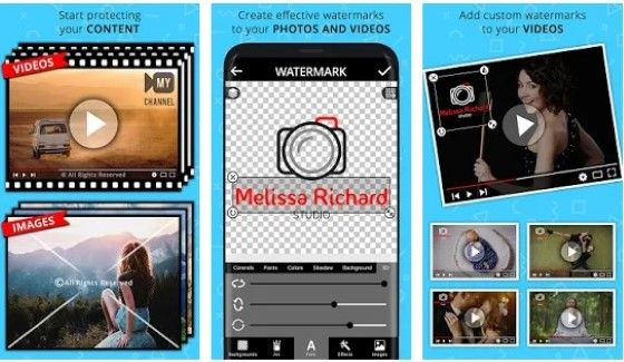 Add Watermark On Videos And Photos Custom 04a2f