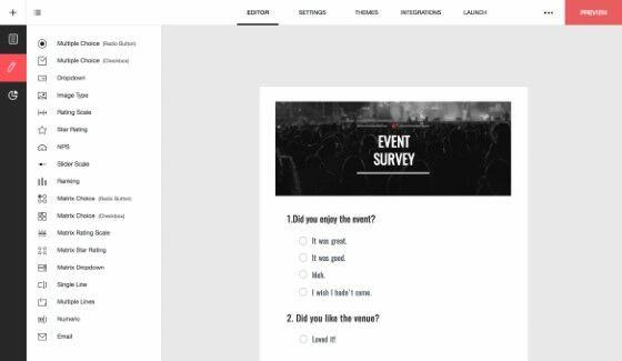 Cara Membuat Kuesioner Lewat Google Form Zoho Survey 9b8ce