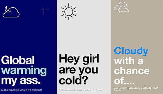 Aplikasi Cuaca Terbaik 6