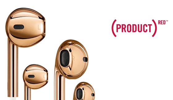 Produk Aneh Apple Earpods Gold