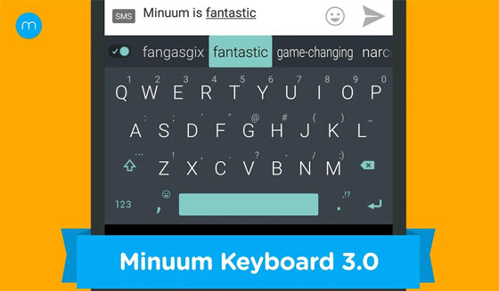 Aplikasi Keyboard Android Minuum 39882