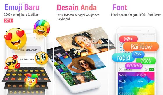 Aplikasi Keyboard Android Rainbowkey 23af9
