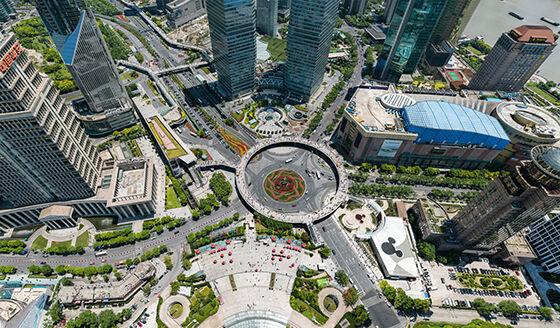 Bigpixel Image Shanghai 195 Gigapixel Photo B9998