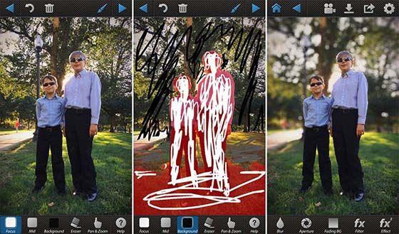 Gunakan Aplikasi Editing Foto Bokeh