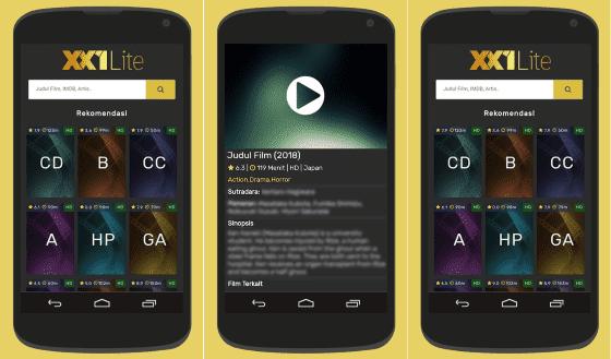 Aplikasi Nonton Film Gratis Android 3 C712b