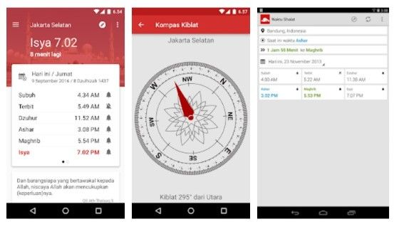 Aplikasi Pengingat Waktu Adzan Otomatis Android Dfc0c