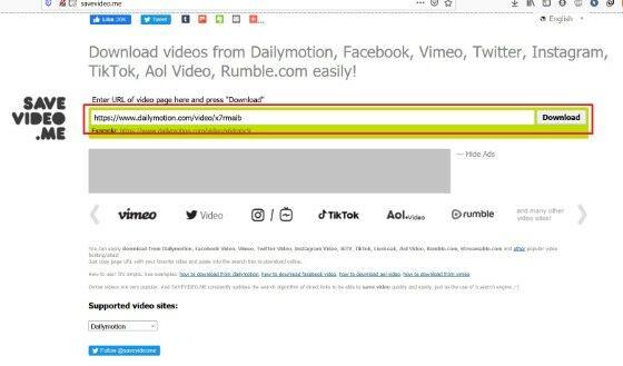 Cara Download Video Dari Dailymotion Dengan Keepvid D15f5