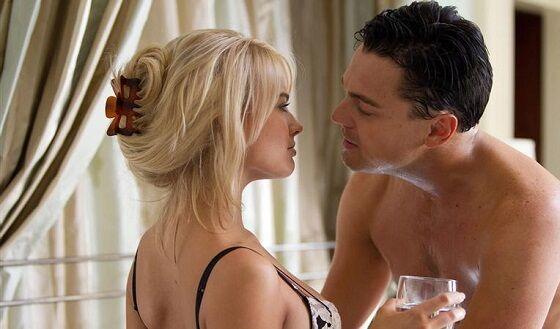 Leonardo Dicaprio Dan Margot Robbie Di Wolf Of Wall Street 06e7a