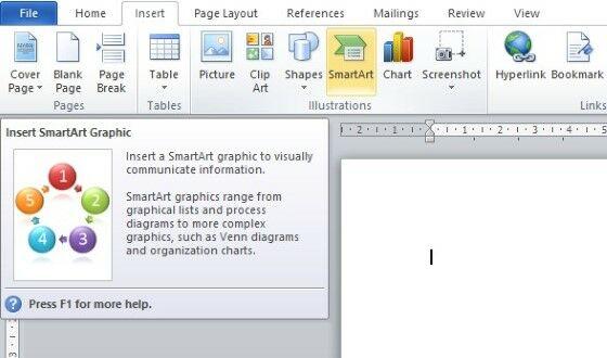 Cara Membuat Struktur Organisasi Di Word 2013 Ea97d