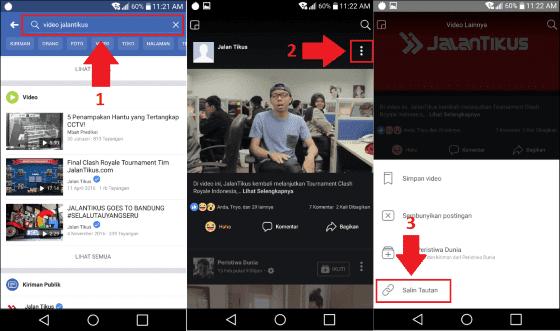 Begini Cara Download Video di Facebook Tanpa Aplikasi Tambahan
