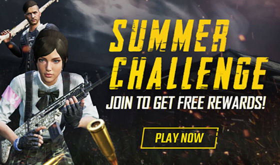 pubg mobile summer challenge event