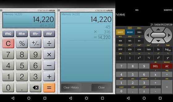 Aplikasi Kalkulator Android 1