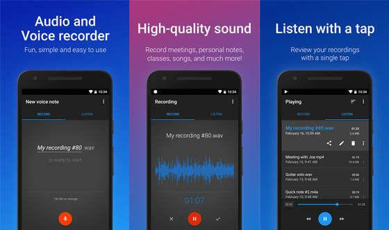 Aplikasi Perekam Suara Easy Voice A2a93