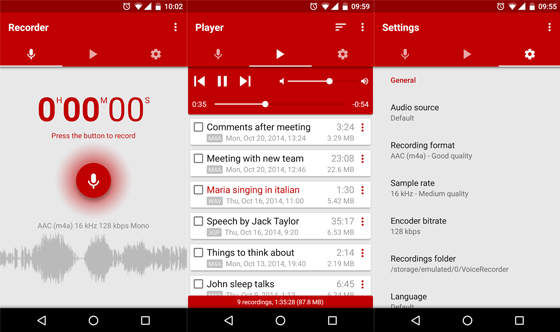 Aplikasi Perekam Suara Voice Recorder Pro D047f