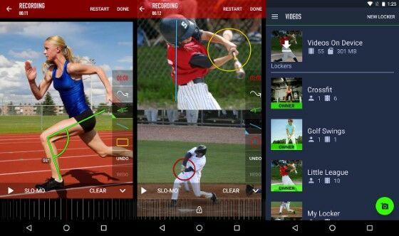 coachs eye - aplikasi slow motion gratis