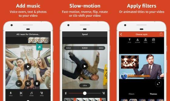 videoshop - aplikasi edit video slow motion