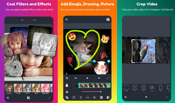 Aplikasi Edit Video Android Tanpa Watermark Androvid A1256