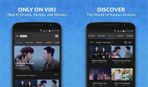 Aplikasi Nonton Drama Korea Viki 3d879