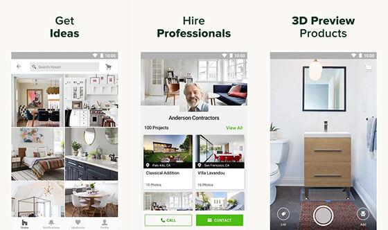 Aplikasi Desain Rumah Android Houzz 11ec6