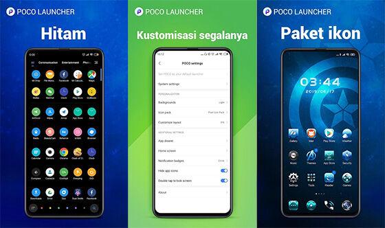 Aplikasi Tema Hp Android Poco Launcher 693ec
