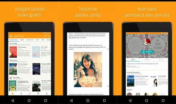 Aplikasi Baca Novel Online Wattpad 087c9