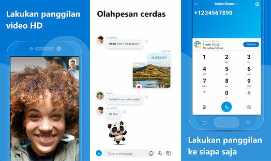 Aplikasi Pengganti Zoom Skype 74325