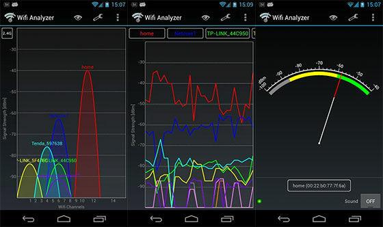 Aplikasi Penguat Sinyal Wifi Analyzer A47ec