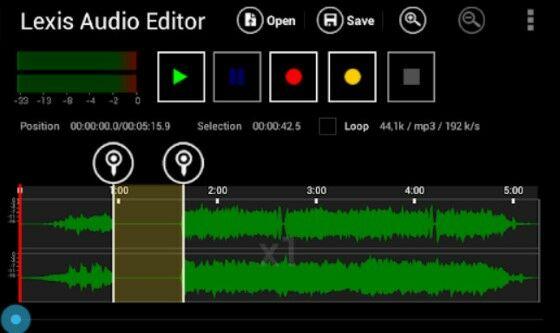 Lexis Audio Editor 1 E07d2