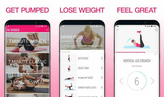 Aplikasi Olahraga Di Rumah Workout For Women A5434