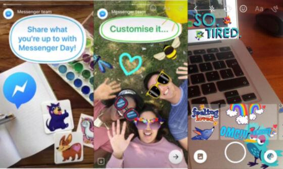 Facebook Messenger Day Vs Snapchat Stories