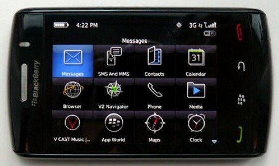 BlackBerry Storm Cb9b4