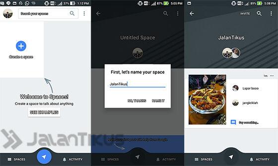 Cara Membuat Group Chat Di Google Spaces
