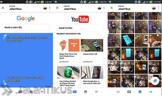 Cara Pakai Google Spaces