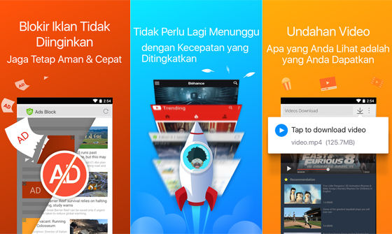 Cm Browser Browser Android Paling Ringan