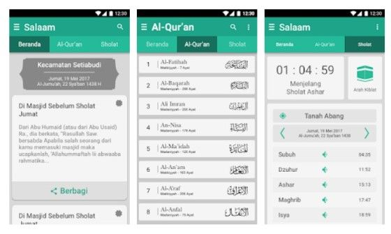 Aplikasi Adzan Otomatis Offline Android 3751b