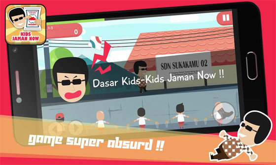 Kids Jaman Now Games Game Android Dari Viral Sosial Media