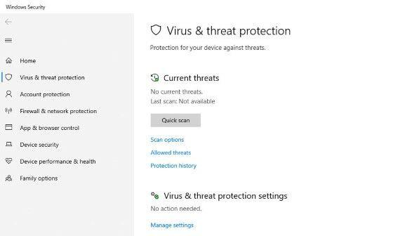 Cara Mengaktifkan Windows Defender Yang Tidak Bisa Dibuka Windows 10 Af474