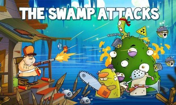 Swamp Attack Mod Uang Tak Terbatas Bac95