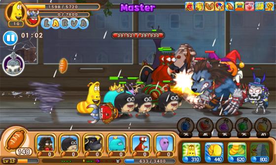 Larva Heroes Mod Apk 1593d