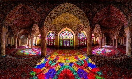 Masjid Nasir Al Molk Iran Ab429
