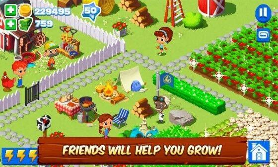 Green Farm Mod Unlimited Money Bad60