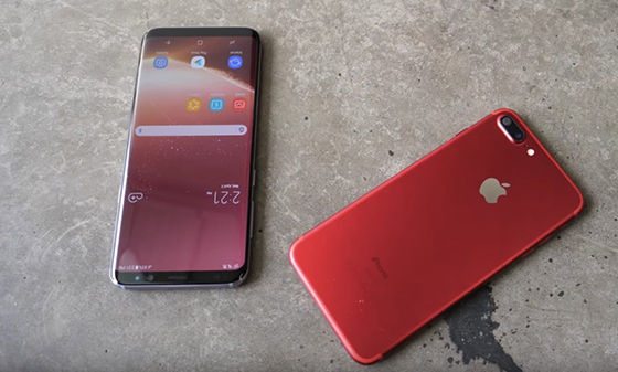 Samsung Galaxy S8 Vs Iphone 7 Plus 5