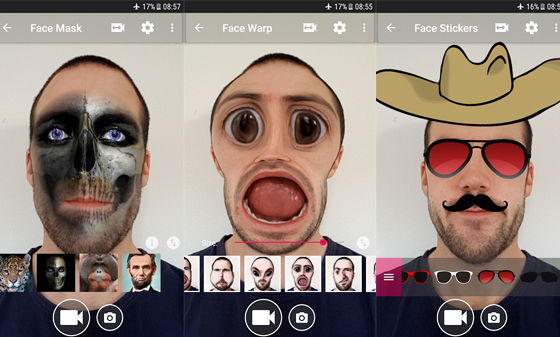 Aplikasi Edit Video Lucu Face Changer A8530